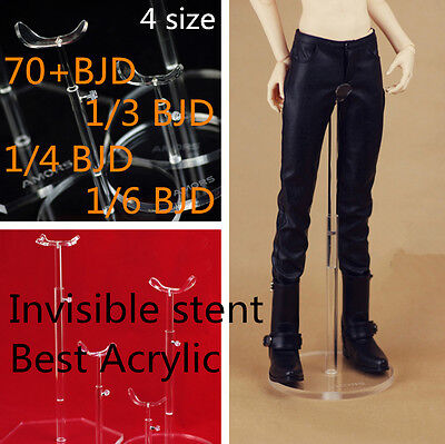 【Tii】1/3 1/4 1/6 BJD doll stands Invisible Transparent stent SD MSD YOSD IP DD