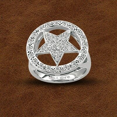 Kelly Herd .925 Sterling Silver Large Star Ring