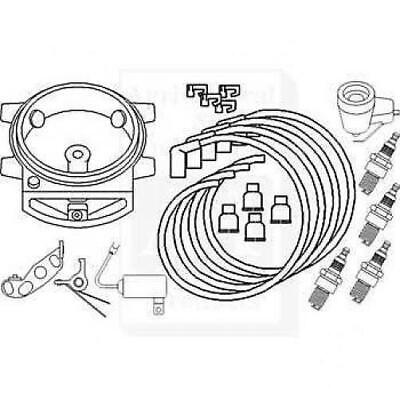 Complete Ignition Tune Up Kit Ford 9n 2n 8n Tractors Front Mount