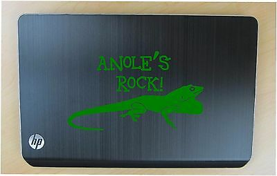 Anole pet decal in 11 colors
