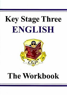 KS3 English Workbook (without answers) by CGP Books Paperback Book The Cheap