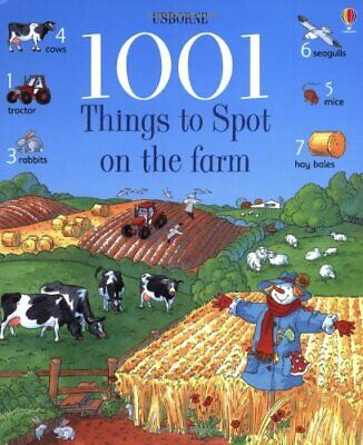 1001 Things to Spot on the Farm (Usborne 1001 T... by Doherty, Gillian Paperback
