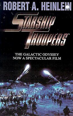 Starship Troopers, A. Heinlein, Robert Paperback Book The Cheap Fast Free Post