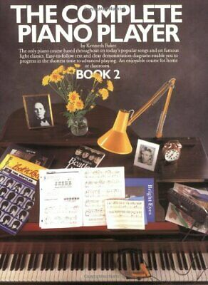The Complete Piano Player Book 2 by Baker, Kenneth Paperback Book The Cheap Fast