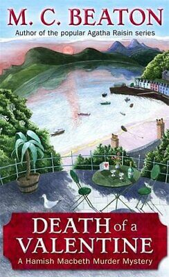 Death of a Valentine (Hamish Macbeth) by Beaton, M.C. Paperback Book The Cheap