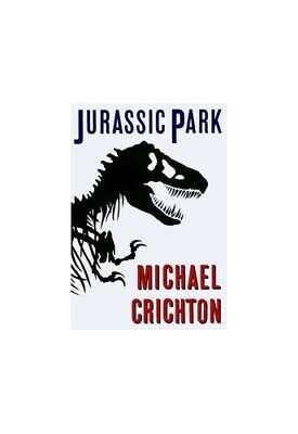 Jurassic Park (Fiction omnibus) by Crichton, Michael Hardback Book The Cheap