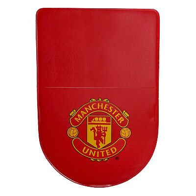 Manchester United Official Football Gift Car Tax Disc Holder Red
