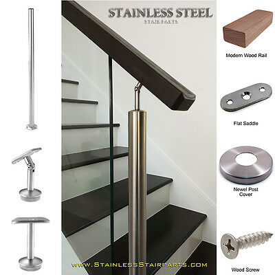 The Perfect Finishing Touch to all Modern Stair Post Bases and Wall Anchorages. Stainless Steel Stair Newel Post /& Wall Anchorage Canopy E020