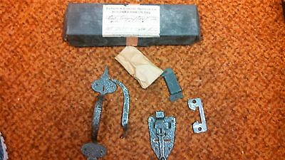 Vintage Richards & Conover Hardware Co. Door Latch & Hardware New Old Stock