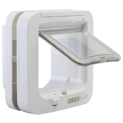 Sureflap Microchip Cat Flap and Accessories  White