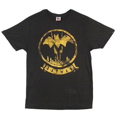 Batman Symbol Junk Food Blue Premium Licensed Adult T Shirt 1295