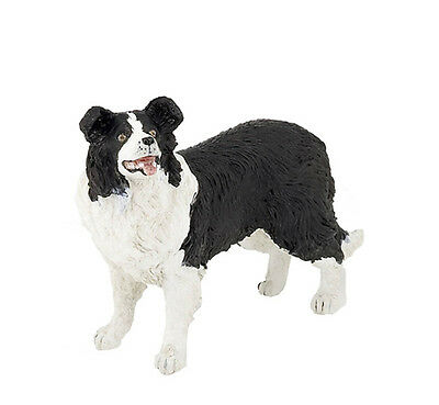 FREE SHIPPING | Papo 54008 Border Collie Realistic Toy Dog Model - New n Package