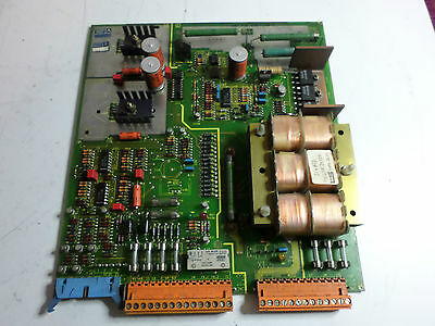 Siemens Simoreg -Servo Power Supply Board - 6Rb 2000-0Gb00 - Ge.447700.0035.03