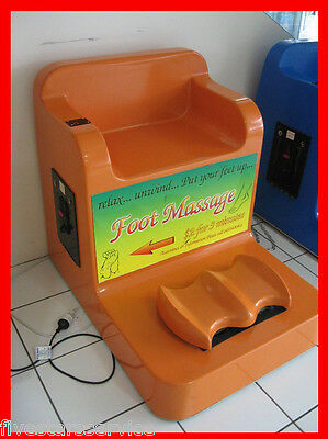 Vending Machine Coin Operated Foot Massage Chair Laundromat Business