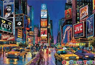 Times Square New York Educa Neon Jigsaw Puzzle 1000 Pieces