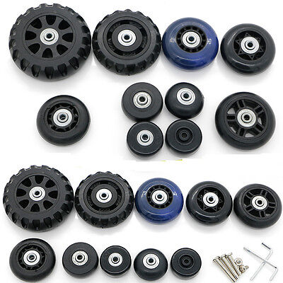 Suitcase Spinner Mute Wheels Replacement Luggage Repair Parts