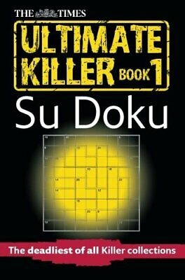 The Times Ultimate Killer Su Doku (Times Su... by The Times Mind Games Paperback