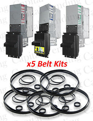 5x Belt Kit for Mars MEI AE & VN Dollar Bill Validators & Acceptors  series 2000