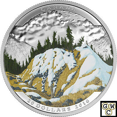 2016  Mountain Goat - Landscape Illusion'Color Prf $20 Fine .9999(NT)(17622)