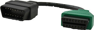 OBD Adapter for Multiecuscan Fiatecuscan OBD2 Diagnostic Alfa Romeo Fiat green