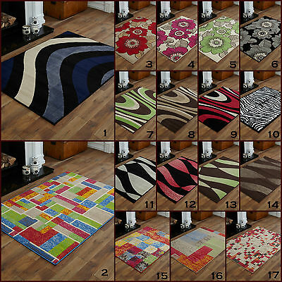Large 8Mm Thick Alpha Multi Colour Green Black High Quality Best Clearance Rugs