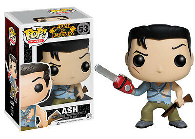 Funko Pop Vinyl Figurine Ash from Evil Dead/Evil Dead 2/Army of Darkness Movies
