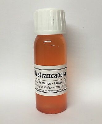 ☆ DESTRANCADERA ☆  ESOTERIC OIL ESPECIALLY FOR RITUALS WITCHCRAFT SPELLS 60ml.