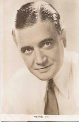 Cinema Star / Actor Richard Dix Film Weekly   Real  Photo  Postcard