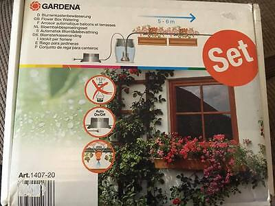 Gardena Flower Box Watering Set 1407-20 ready to use automatic