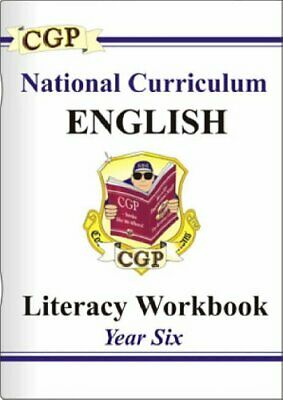 KS2 English Literacy Workbook - Year 6: Year 6 Pt. 1 & 2 by CGP Books Paperback
