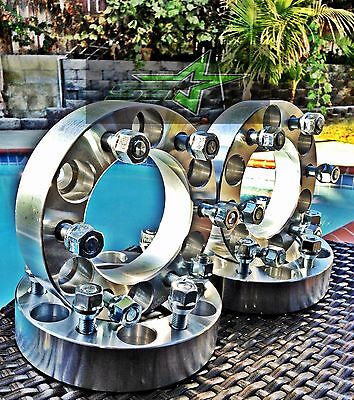 """4X 6X5.5 Toyota Wheel Spacers 2"""" Inch Fits All 6 Lug 50Mm Forged 12X1.5 Studs"""