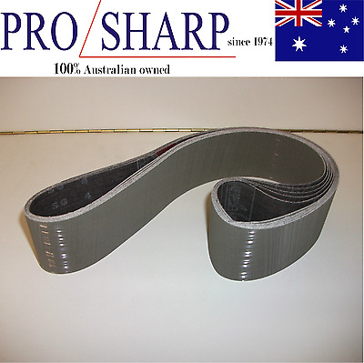 3M Trizact Metal Working Linisher Belt 50x914 A30 Grit - 5 Off