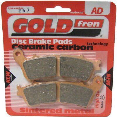 Front Disc Brake Pads for Honda CB1000R 2010 998cc By GOLDfren