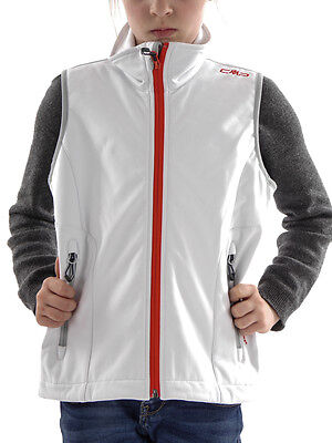 CMP Function vest Jacket sleeveless Westover Collar white ClimaProtect