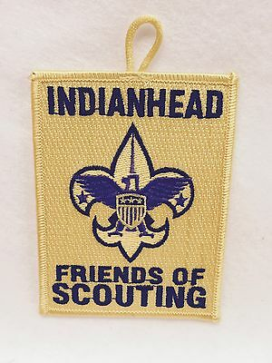 Boy Scouts-  Indianhead - Friends of Scouting patch