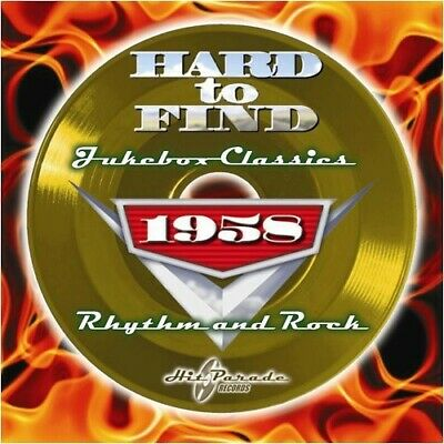 Various Artists - Hard to Find Jukebox Classics 1958: Rhythm & Rock / Various [N