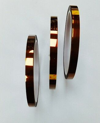 100ft 10mm High Temperature Heat Resistant Kapton Tape Polymide BGA for Repairs