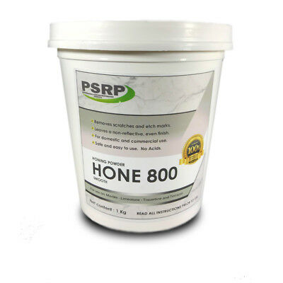 PSRP Hone 800Grit 1KG Honing / Cleaning Powder for Travertine,Marble,Limestone
