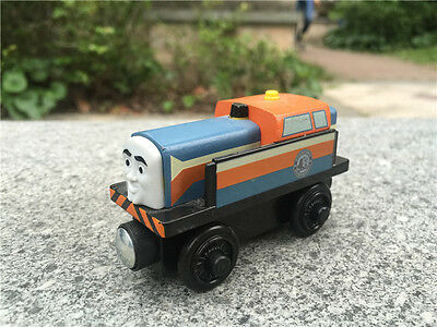Original Thomas & Friends Take N Play Wooden Railway Trains DEN New Loose