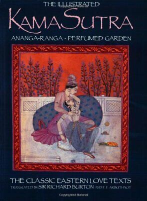 Illustrated Kama Sutra by Vatsyayana Mallanaga Paperback Book The Cheap Fast