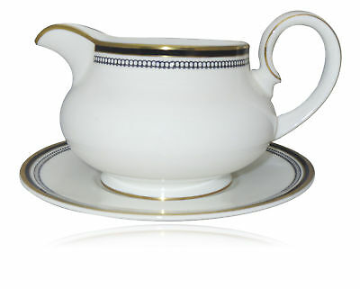 Royal Doulton Pavanne Gravy Boat & Underplate
