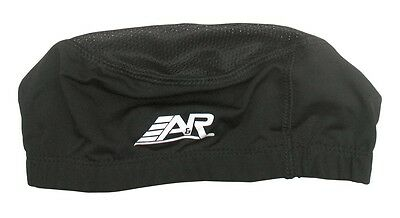 New A&R ProSeries Hockey Football Ventilated Skull Cap Wear Under Helmet Black