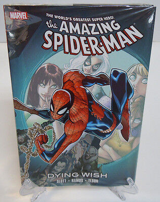 Amazing Spider-Man Dying Wish 698 699 700 Marvel Comics HC Hard Cover New Sealed
