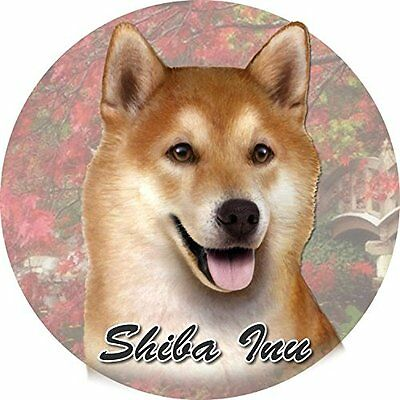 Shiba Inu Car Coaster Absorbent Keep Cup Holder Dry Stoneware New Dog Puppy