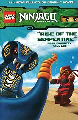 Lego Ninjago Vol.3 - Rise of the Serpentine by Paul Lee Book The Cheap Fast Free