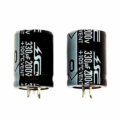 2pc Electrolytic Capacitor Snap in Can HP 4700uF 100V 105℃ 2000hrs φ35x51mm SC