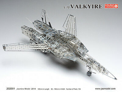 202001 1/72 Vakyrie Full PE Model Jasmine Model Macross VF-1