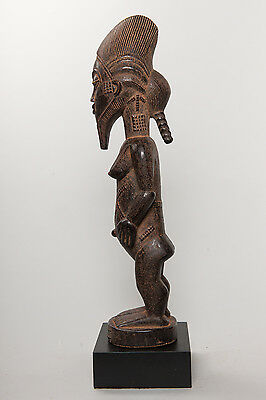 Baule, Female Ancestor Figure, Ivory Coast, African Tribal Arts.