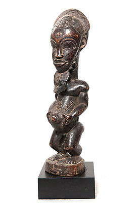 Baule, Male Ancestor Figure, Ivory Coast, African Tribal Arts.
