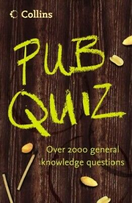 Collins Pub Quiz Book, Collins UK Paperback Book The Cheap Fast Free Post